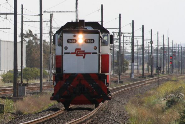 SCT Logistics - Altona depot and light engine moves
