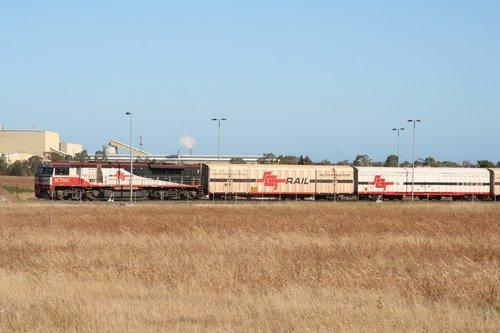 SCT002 shunting wagons at the SCT Altona depot