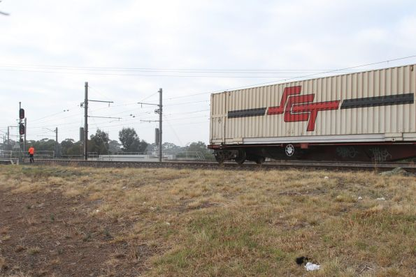 Tail End Of Bm9 Is Reversed Into The Sct Depot At Altona