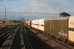 Running parallel to the up SCT at Corio
