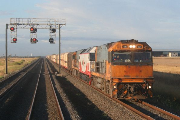 Passing NR82, G514 and NR83 on the SCT train outside Lara