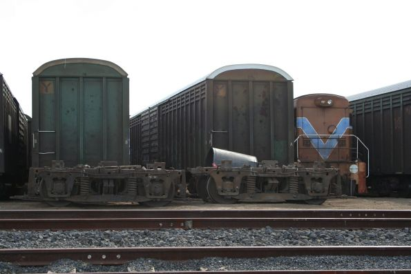 SCT stored and scrapped wagons at Altona
