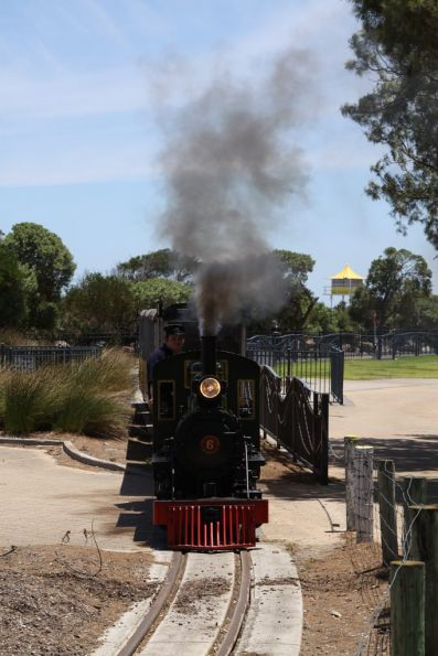 Semaphore to Fort Glanville Tourist Railway