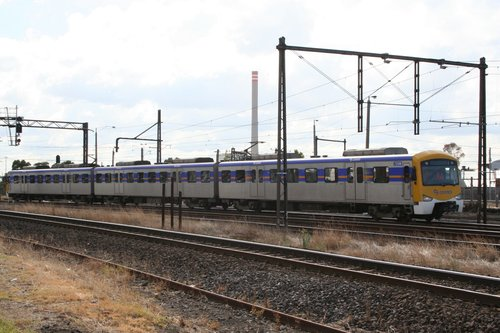 Siemens 725M at Newport, Werribee bound for brake testing