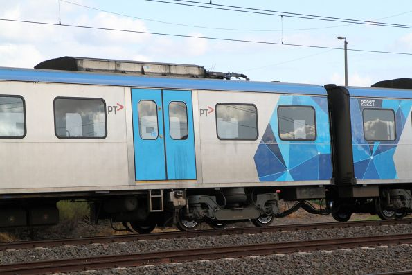 Pantograph cut away from Siemens 743M