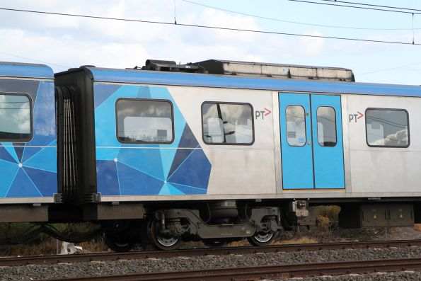 Pantograph cut away from Siemens 744M
