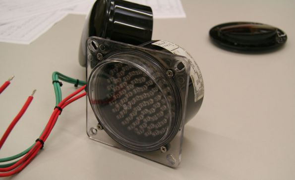 LED light unit for signals