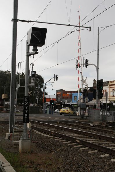 Banner indicator E2771BI for down trains approaching Moonee Ponds