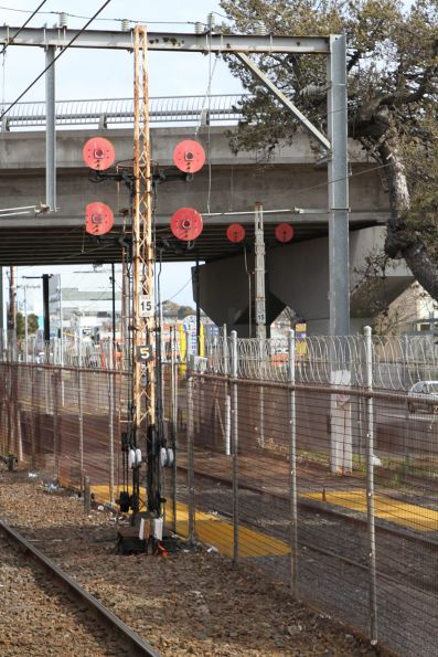 Disc signals on post 5 and 5B at Frankston