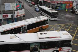 Footscray's three bus operators: Westrans, Sita and Melbourne Bus Link