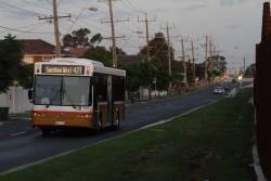 Sita bus #138 rego BS01AU between runs at Sunshine station - Wongm's