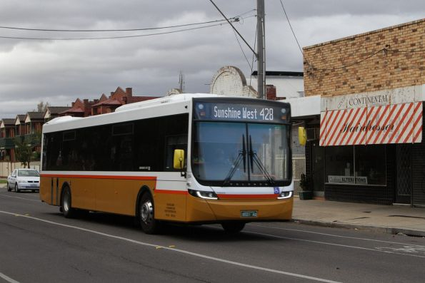 Sita bus #134 rego BS01AQ on route 428 along Hampshire Road, Sunshine