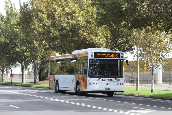 Sita #129 BS00BT on a route 403 service along Dynon Road in West Melbourne