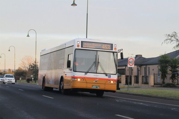 Sita bus #115 BS01IU on a route 453 service in Melton