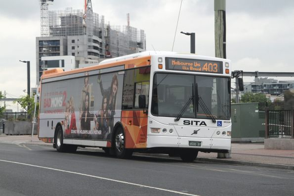 Sita bus #129 BS00BT on route 403 at Footscray station