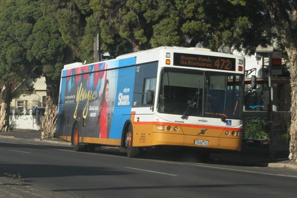 Sita bus #110 7646AO on route 472 on Melbourne Road, Newport