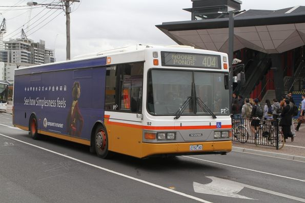 Sita bus #152 2152AO on route 404 at Footscray station
