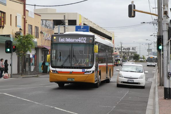 Sita bus BS02TM on route 402 at Footscray station