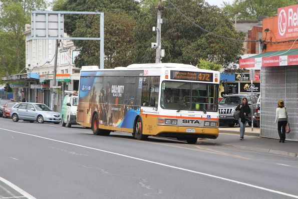 Sita bus #59 5606AO on route 472 at Footscray station