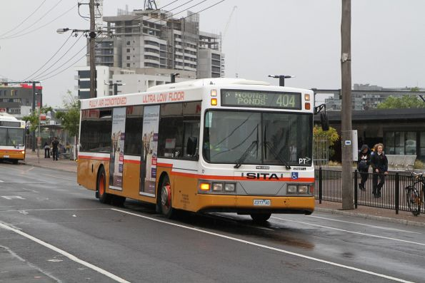 Sita bus #77 2377AO on route 404 at Footscray station