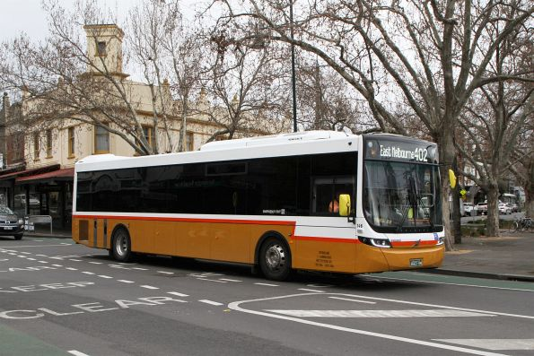 Sita bus #146 BS03RM heads east on route 402 at Kensington