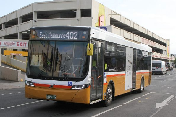 Sita bus #144 BS02TM on route 402 at Footscray station