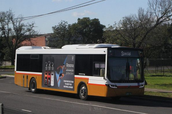 Sita bus #142 BS01ZL out of service on Sunshine Road
