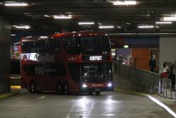 SkyBus double decker #102 BS01LT at Southern Cross Station