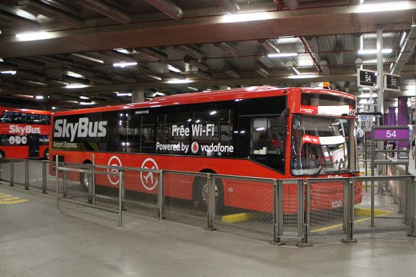 SkyBus Melbourne bus #203 at Southern Cross Station