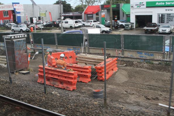 Skye Road level crossing removal project