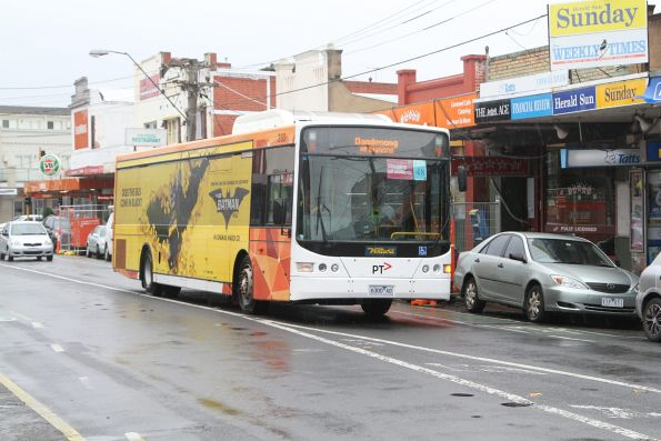 Ventura #233 6300AO on a Dandenong rail replacement service at Murrumbeena