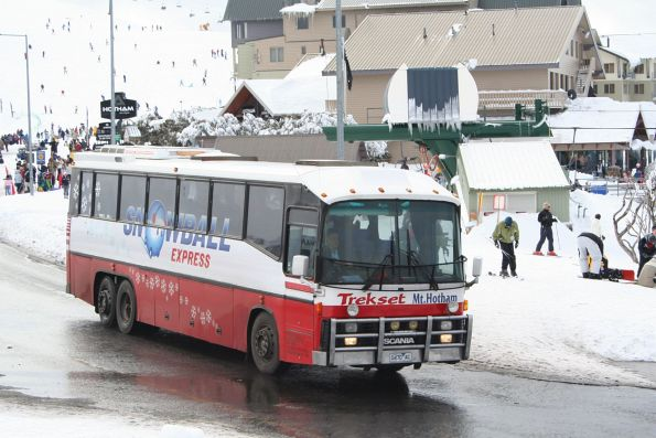 'Snowball Express' 0470AC at Mount Hotham