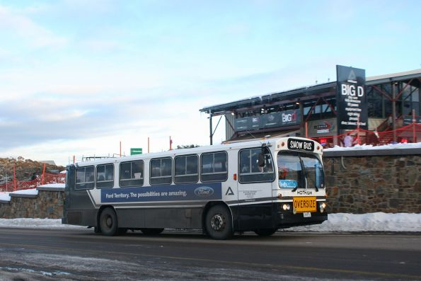 0658AC on the resort shuttle at Mount Hotham, in the Hotham grey livery