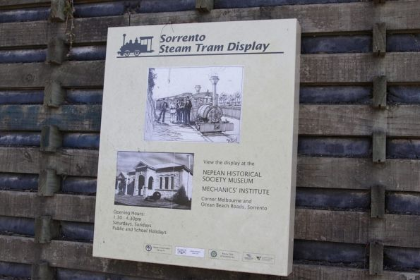 Sorrento steam tramway