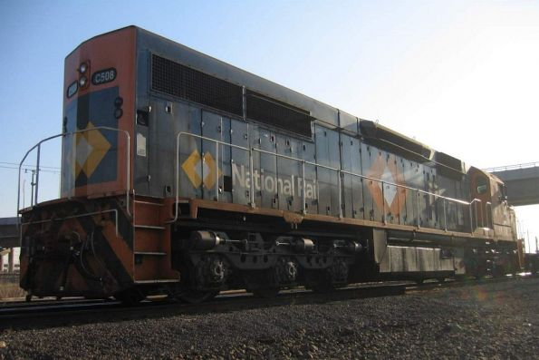 C508 shunting at South Dynon