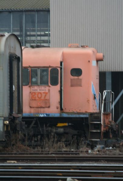 Westrail liveried K207 in storage at South Dynon