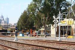 New signal 190 for up trains departing South Dynon