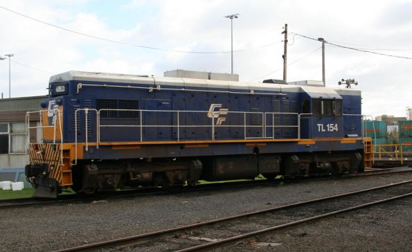 TL154 still a yard ornament at South Dynon