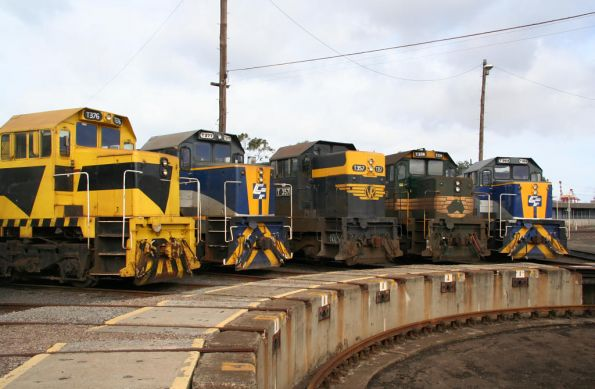 T376, T377, T357, T374 and T369 at South Dynon