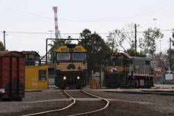 G524 goes for a spin at South Dynon, X37 and P22 are behind