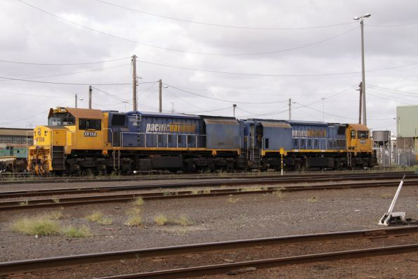 XR558 and XR555 out the back of South Dynon