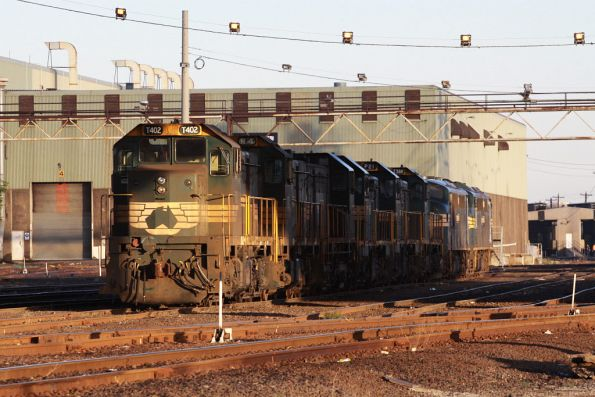 T402 leads stored H4, Y122, P23, P21, T388, A71 and A73 at South Dynon