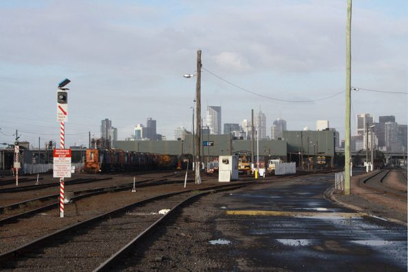 Western end of South Dynon loco depot