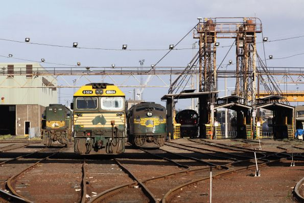 G524, A78 and X49 at South Dynon