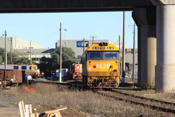 BL29 heads for the fuel point at South Dynon