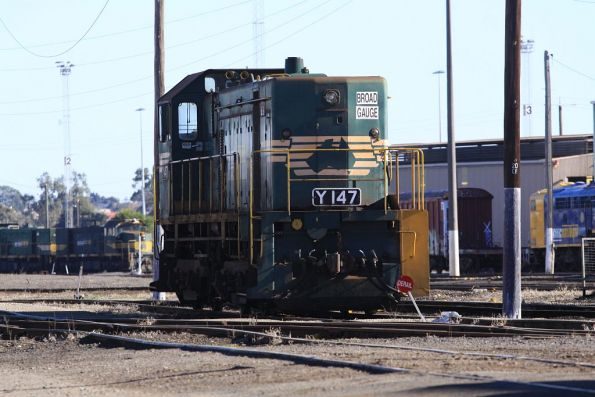 Y147 stabled out the back of the South Dynon workshops