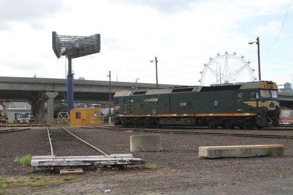 G539 stabled beside the South Dynon turntable