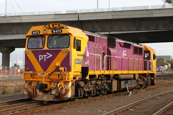 N473 departs South Dynon light engine