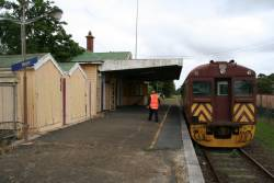 End of the line at Nyora