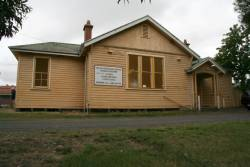 Nyora station building